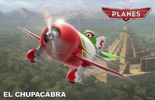 Fermecatorul Chupacabra din Planes (Avioane)