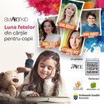 Luna martie este Luna fetelor din cartile pentru copii!