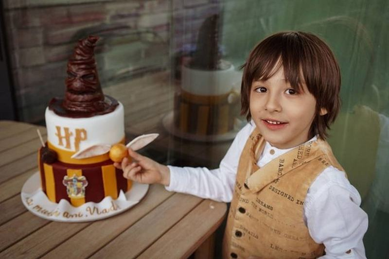 """Fiul Danei Rogoz a implinit 7 ani: """"Rade tot Universul cu tine. Esti creativ si diferit"""""""