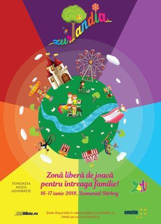Festivalul Familiei Zurlandia, editia a doua, pe 16 si 17 iunie, la Domeniul Stirbey