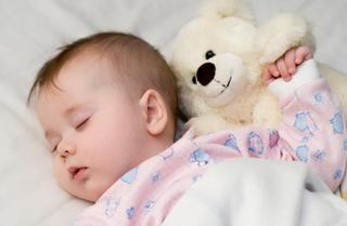 Bebelusii invata cum sa doarma