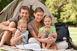 Vacanta cu cortul impreuna cu copiii: sfaturi si recomandari