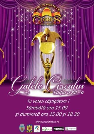 A 12-a editie a Galelor Circului, un spectacol cu 12 numere de senzatie!