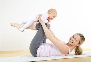 Exercitii pentru un bebelus activ