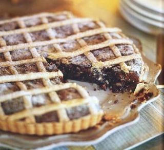 Crostata cu ciocolata