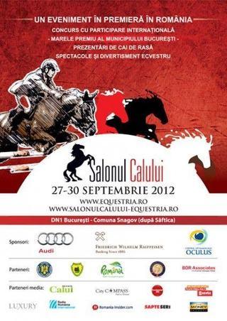 Salonul Calului, 27 - 30 septembrie 2012, Clubul de echitatie Equestria