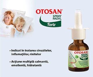 Otosan spray nazal –  Nas descongestionat, respiratie usoara