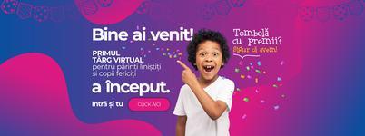 Romanii sunt asteptati pe 23-25 aprilie la e-bebe.live, targul online pentru copii fericiti si parinti linisti