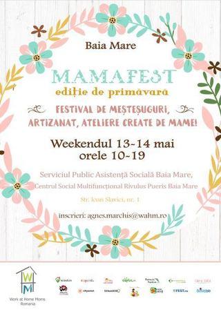 Mama Fest: Festival de mestesuguri, artizanat, ateliere create de mame