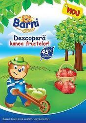 Prajitura Barni acum cu 45% fruct in umplutura