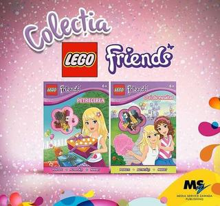 Media Service Zawada Publishing lanseaza cartile LEGO City si LEGO Friends