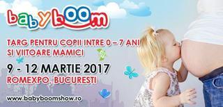 Pe 9 martie incepe la ROMEXPO primul targ pentru mamici si copii - Baby Boom Show