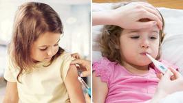 Simptome care pot indica o reactie adversa grava la un vaccin in cazul copiilor