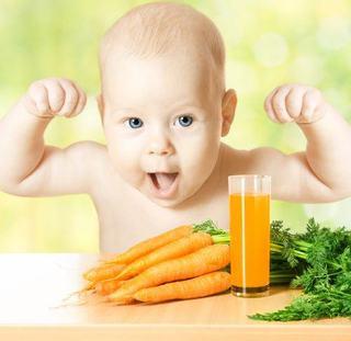 Recomandari privind administrarea de suc bebelusilor