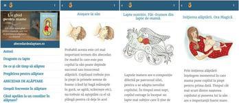 S-a lansat prima aplicatie mobila despre alaptare in limba romana