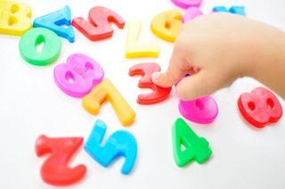 Cand si cum invata copilul numerele?