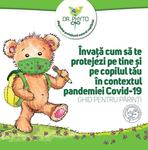 Ghid de protectie anti-COVID-19 pentru parinti si copii