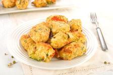 Nuggets cu broccoli si cartofi