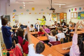 Ora de Educatie Rutiera, predata catre 100 de cadre didactice din Bucuresti