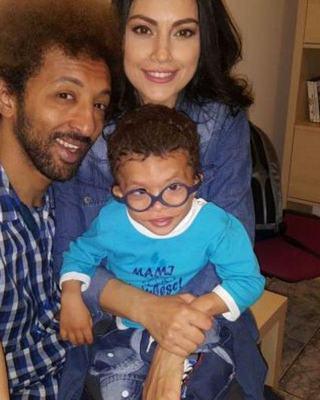 """Primul transplant de celule stem pentru fiul lui Kamara. """"Un prim pas spre o copilarie normala"""""""