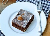 Brownie cu pere - fara zahar