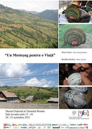 Un Mestesug pentru o Viata, Muzeul National al Taranului Roman, Bucuresti