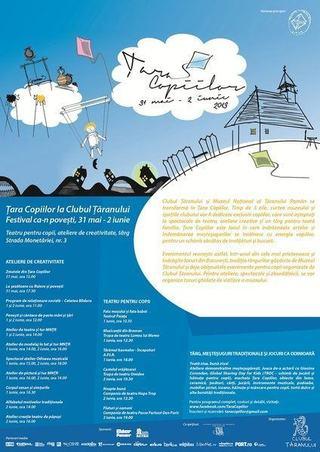 Sase spectacole de teatru la Festivalul Tara Copiilor