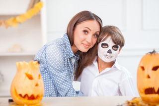Bodypainting de Halloween pentru copii