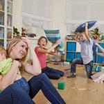 De ce copiii se poarta urat in prezenta mamei