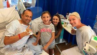 O femeie a donat un rinichi fostului sot, pentru ca fiicele lor sa nu ramana fara tata