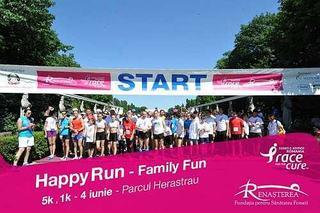 Happy Run-Race for the Cure Romania