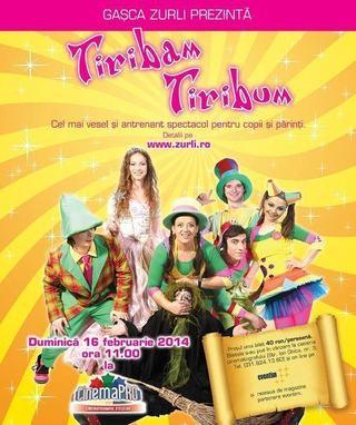 Tiribam Tiribum, cel mai iubit spectacol pentru copii, revine la CinemaPro