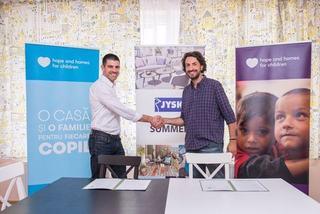 JYSK Romania va dona produse in valoare de peste 1 milion de lei organizatiei Hope and Homes for Children