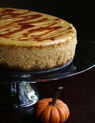 Cheesecake cu dulceata de dovleac