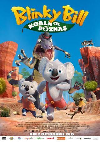 Virgil Iantu interpreteaza rolul principal din Blinky Bill: Koala cel poznas