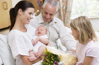 Primii musafiri ai lui bebe, cand si cum?
