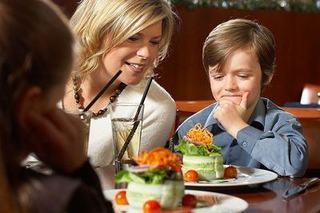Iesirea la restaurant cu copiii, un succes