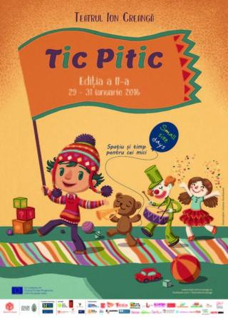 Tic Pitic - Zilele Small Size, Editia a II-a, 29-31 ianuarie 2016