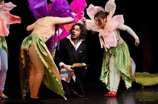 Spectacolul Fluturi si oameni, la Compania de Teatru Passe-Partout Dan Puric