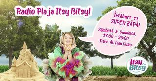 Super Zapa iti racoreste weekendurile la Radio Plaja Itsy Bitsy