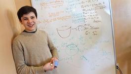 Adolescentul cu autism, care are un IQ mai mare decat al lui Albert Einstein si ar putea castiga un Nobel