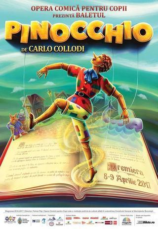 Premiera de balet contemporan la Opera Comica pentru Copii: Pinocchio