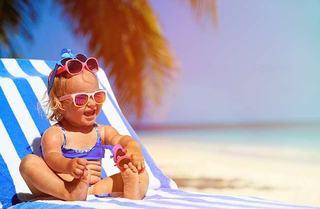 Pericole de vara pentru pielea copilului tau