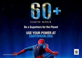 Earth Hour si Spider-Man isi unesc fortele pentru a salva planeta