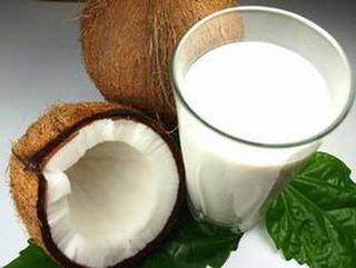 Piure de linte cu lapte de cocos