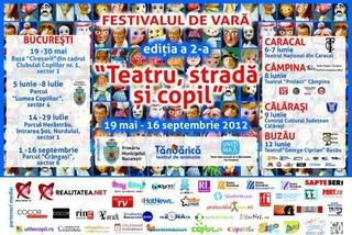 Festivalul Teatru, Strada si Copil - program
