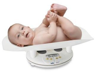 Cresterea rapida in greutate a bebelusului, semn de obezitate