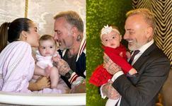 Gianlucca Vacchi, rasfat maxim pentru fiica lui de 9 luni. A dus-o intr-o vacanta de lux cu avionul privat