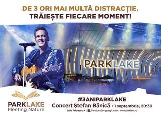 In septembrie ai de trei ori mai multa distractie, la ParkLake Shopping Center!