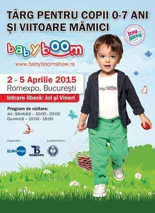 Editia de primavara a Baby Boom Show, 2 - 5 aprilie 2015